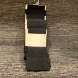 Assorted Textures and Opaque Trouser Socks